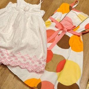 Lined cotton dresses